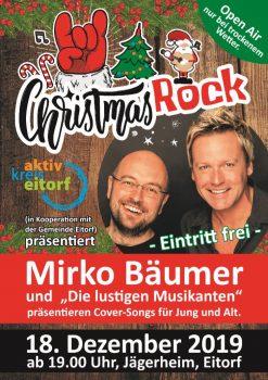 Christmas Rock mit den lustigen Musikanten