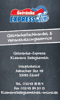 Getränke Express Siebigteroth