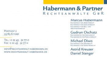 Habermann & Partner Rechtsanwälte - www.rechtsanwalt-habermann.de