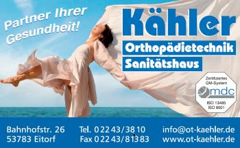 Orthopädietechnik Kähler - www.ot-kaehler.de