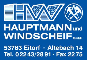Hauptmann und Windscheif Bedachungen - www.hw-bedachung.de