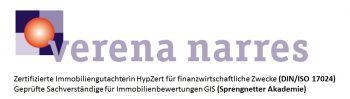 Verena Narres Immobilienbewertungen -  www.vn-immowert.de